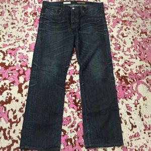 Slim straight AG jeans